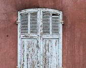 Old door, old peeled off shutters, backdrop for photography, printable poster