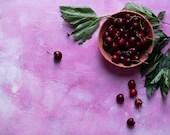 Foodphotography backdrop, ML152, flatlay backdrop, cementlook walls, foodsurface pink, pink backdrop