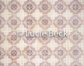 Portugese beige tiles backdrop, ML843, vinyl backdrop, colourful backdrop, Portugese tiles, backdrop foodphotography, myluciebackdrops