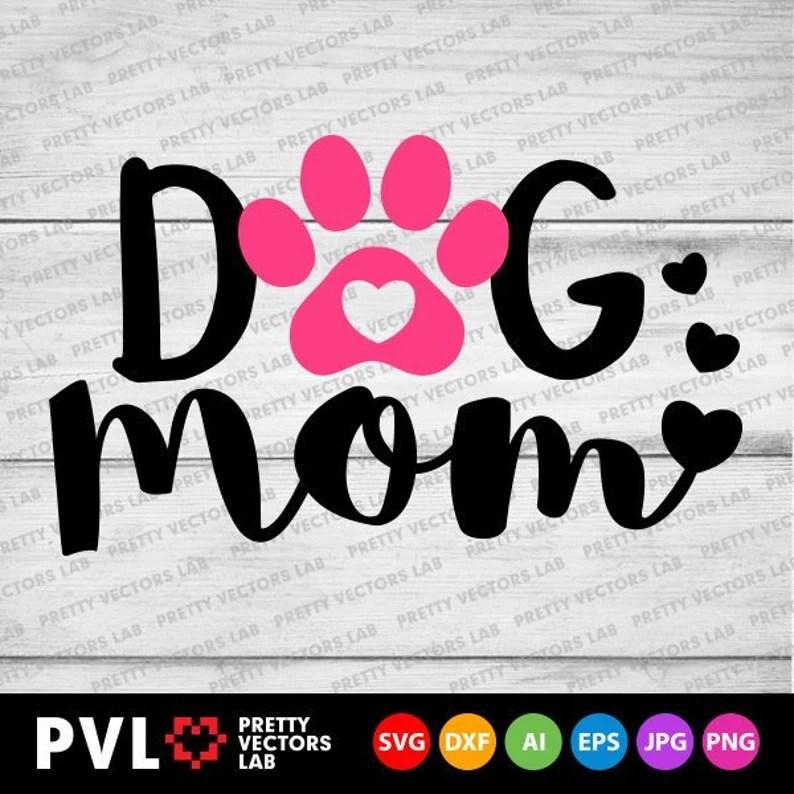 Download Dog Mom Svg Love Paw Svg Love Dogs Svg Dog Lovers Clipart ...