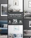 Living Room Mockups 5x7 8x8 8x10 11x14 A4 Frame Mockup Etsy