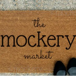 Doormat Blank Mock Up Instant Download Flat Lay Product Etsy