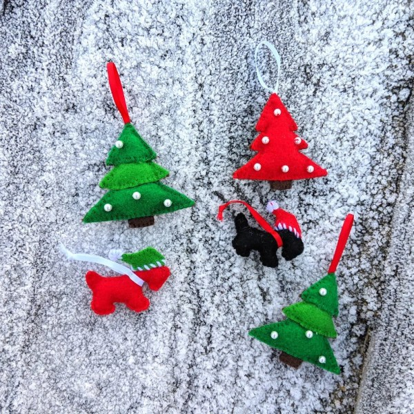 christmas ornaments sewing # 33
