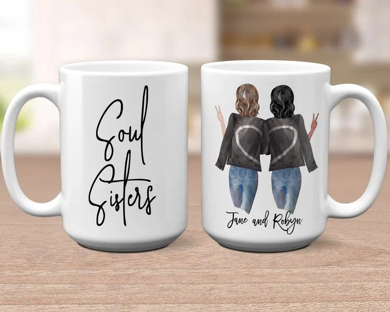 Personalized Best Friend Gifts Best Friend Christmas Gift Idea image 0