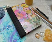 Sketchbook A6 Flower Motif Art Book 124 pages Hahnemühle drawing paper 140g