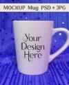 Enamel Mug Mug Mockup Cup Mockup Metal Glossy Hike Etsy