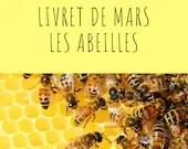 Livret d'activité de mars - thème les abeilles