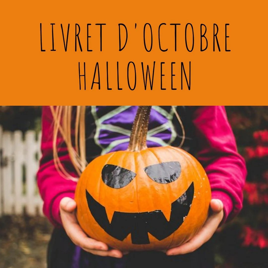 Livret d'activité d'octobre - thème Halloween