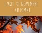 Livret d'activité de novembre - thème l'Automne