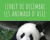 Livret d'activité de décembre - thème les animaux d'Asie