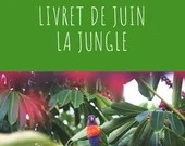 Livret d'activité de juin - La jungle