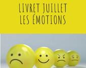 Livret d'activité de juillet - Les émotions