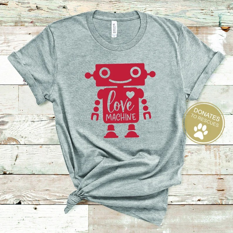 Download Love Machine SVG Valentine SVG Kids Valentines Day T-shirt ...