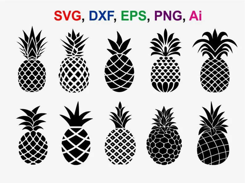 Download Pineapple svg cut files pineapple cricut files pineapple ...