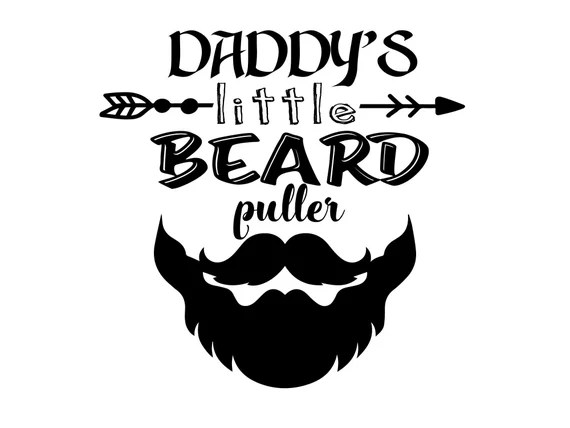 Download Fathers Day Bearded Dad Svg