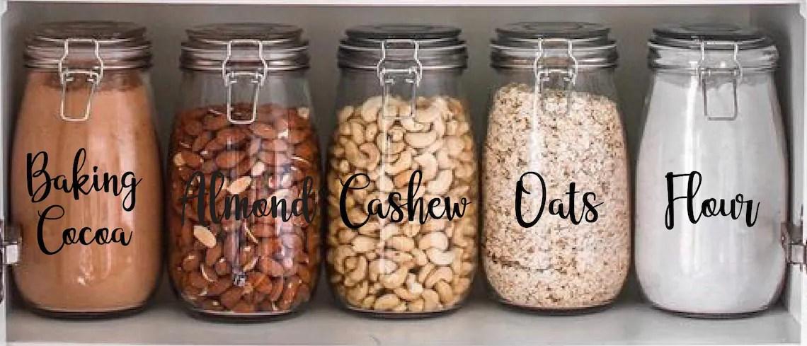 Customize Pantry Labels Customize Labels Custom Decals image 0