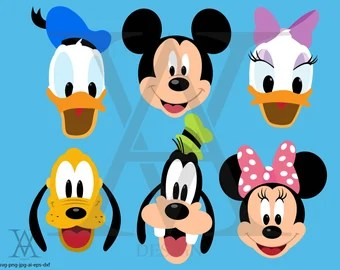 Pete Mickey Mouse Etsy