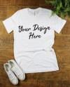 Black T Shirt Mockup T Shirt Flat Lay Women S T Shirt Etsy