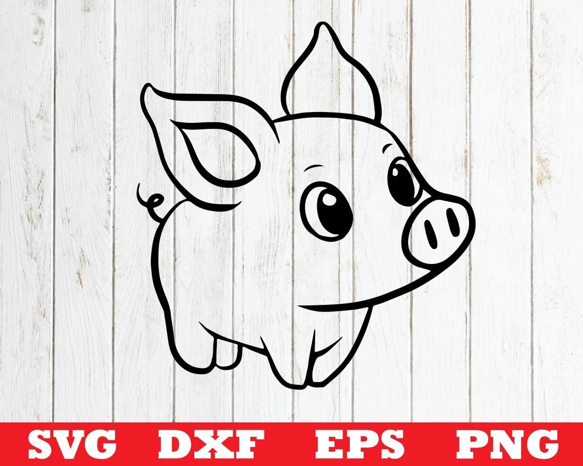 Download Pig SVG Baby pig svg file for cricut pig svg designs pig ...