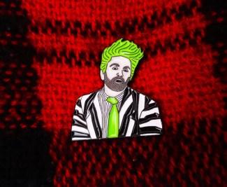 Beetlejuice Musical Enamel Pin Badge  cadeaux de noel comédie musicale