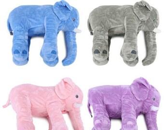 baby elephant pillow etsy