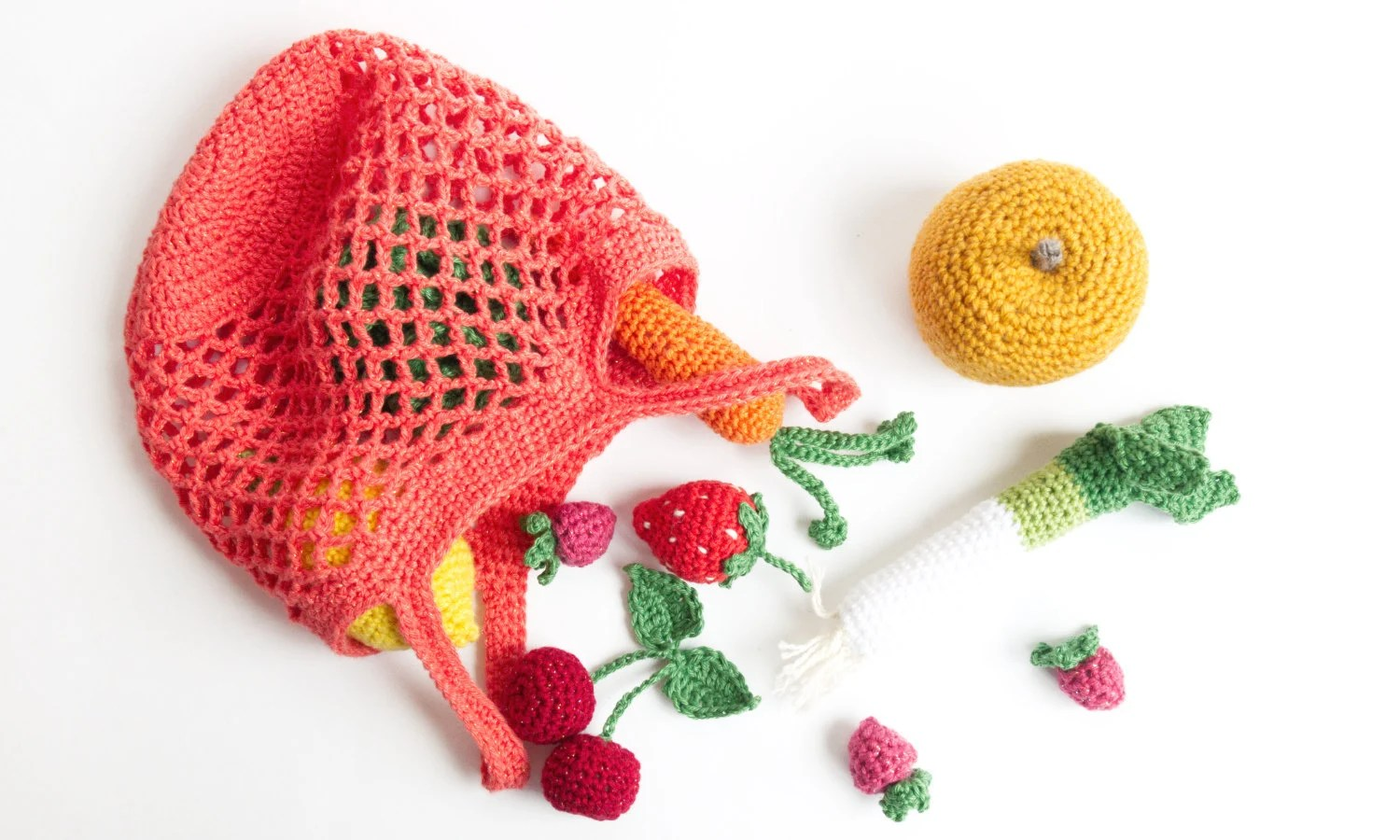 Strawberry crochet image 4