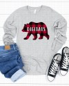 Bella Canvas 3501 Athletic Heather Unisex Jersey T Shirt Etsy