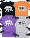 Bella Canvas 3001 Unisex Jersey T Shirt Mockup Halloween Etsy