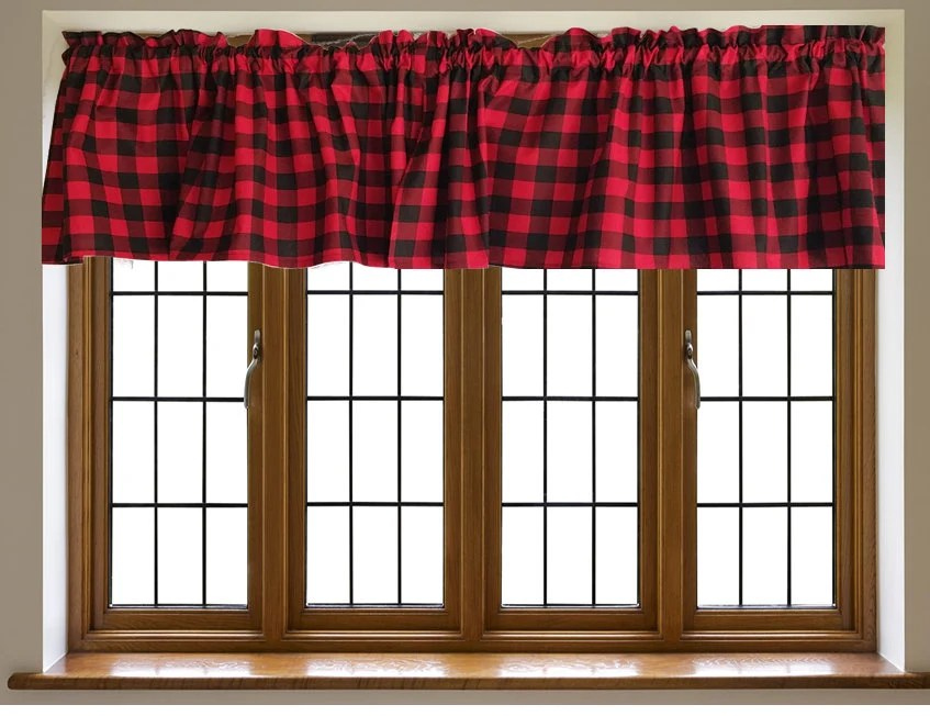 I have these in two rooms so far and would definitely buy again. Red Black Curtains Etsy