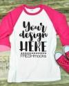 Gildan G570 Raglan Tshirt T Shirt Tee Mockup Adult Unisex Etsy