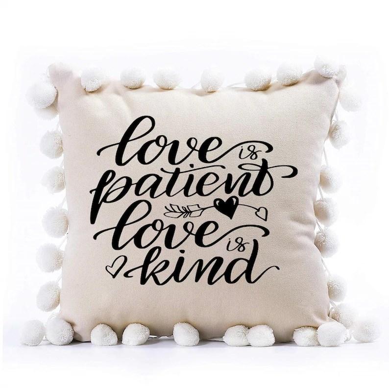 Download Love is patient love is kind svg Valentine quote svg | Etsy