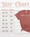 Bella Canvas Size Chart Mock Up 3001 Unisex Shirt Mauve Color Etsy