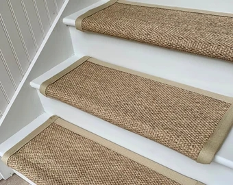 Carpet Stair Treads Etsy | Rug Treads For Steps | Creative | Covering | Residential | Oak | Turquoise