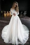 Olivia Off The Shoulder Wedding Dress By Olivia Bottega Off Etsy - Wedding Dress, Casual Boho Beach Wedding Dress With Side Slit Sophia Tolli