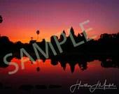 Siem Reap at sunrise