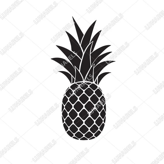 Download Pineapple svg Pineapple svg cut files cricut silhouette | Etsy