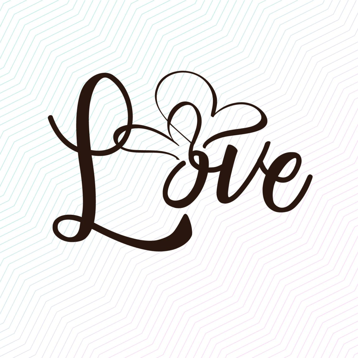 Download Love Heart svg pdf jpeg file for cricut and silhouette | Etsy