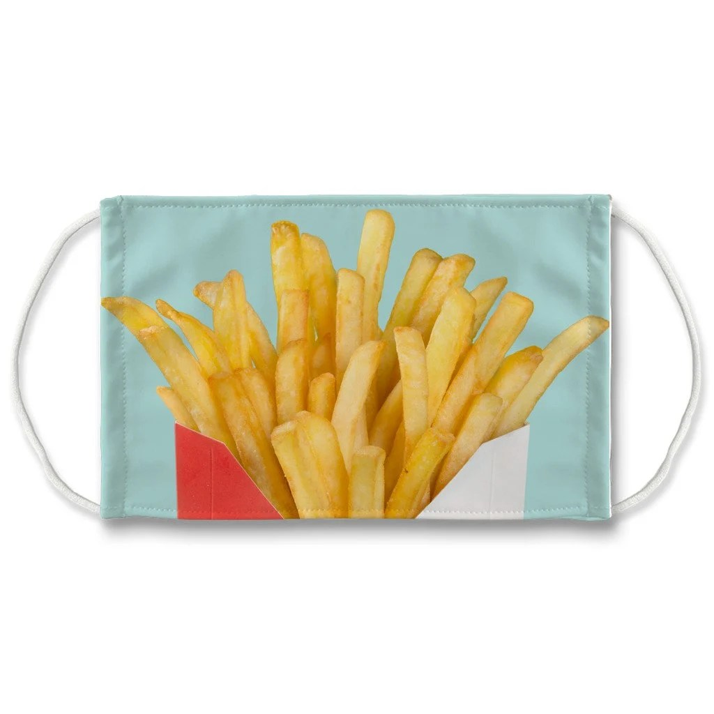 french fries pillow etsy
