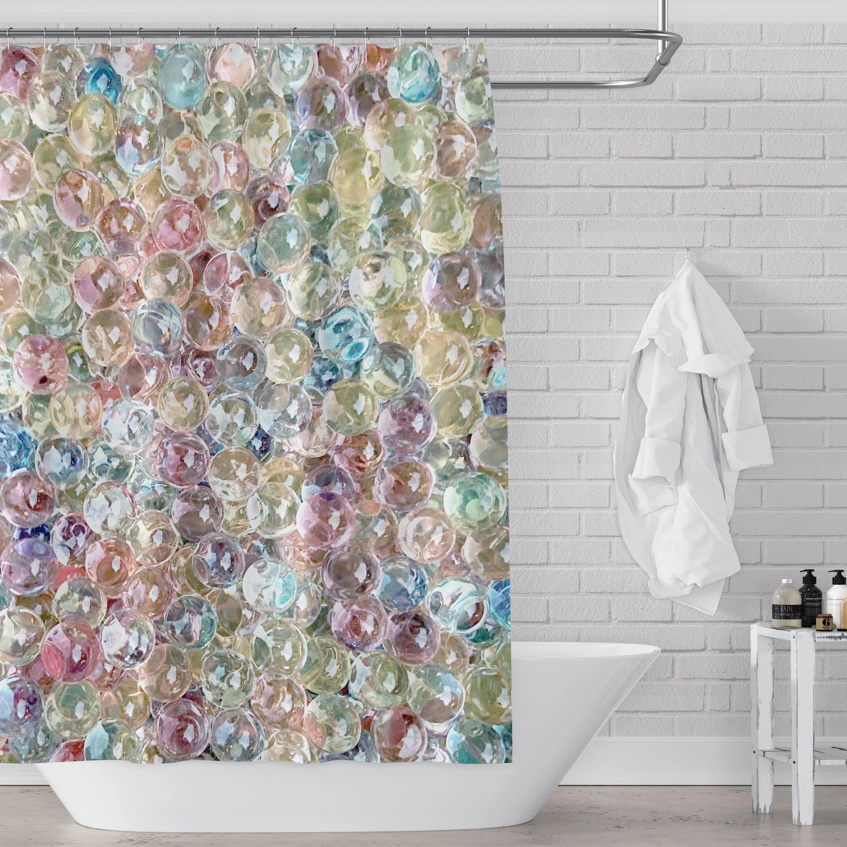 shower curtain beads etsy