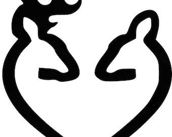 Download Deer heart svg | Etsy