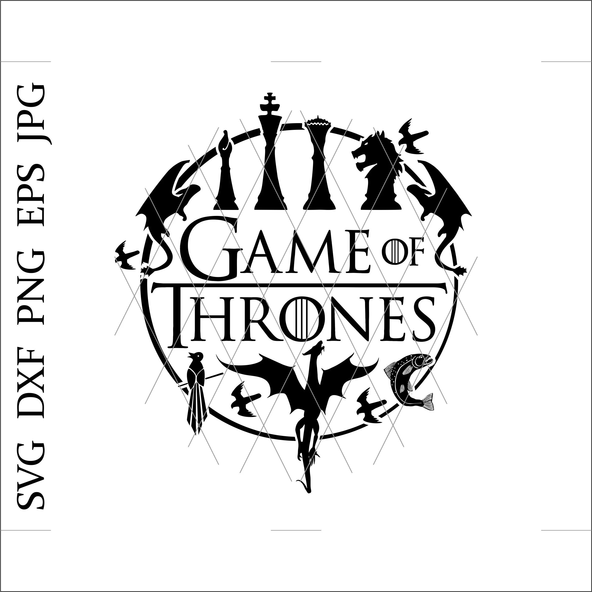 Game Of Thrones Svggame Of Thrones Clipartgame Of Thrones
