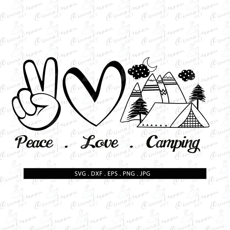Download Peace Love Camping SVG-Peace love camping-Peace love ...
