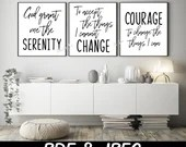 Serenity Prayer SVG: Religious Quote, cut file, PNG, jpeg, Serenity Quote, Gifts, cricut, silhouette, Instant download, Prayer download