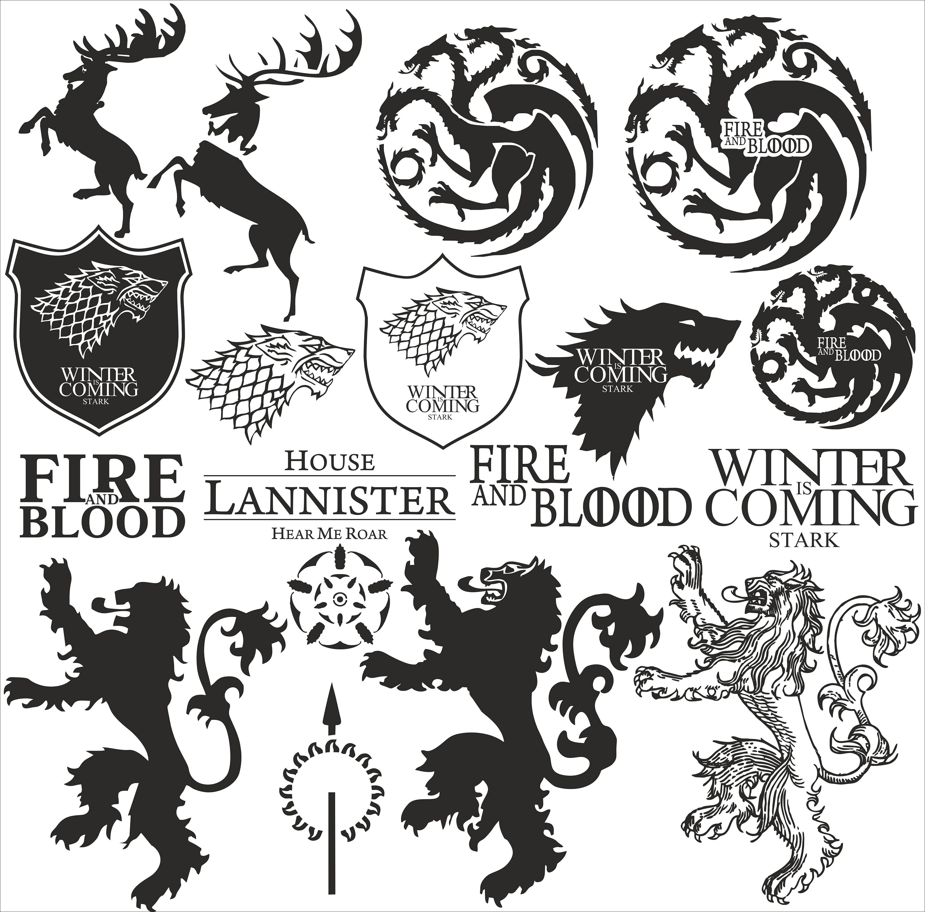 Game Of Thrones Svg Game Of Thrones Logo Game Of Thrones