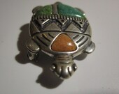 Carolyn Pollack Relios Sterling Silver Turtle Brooch