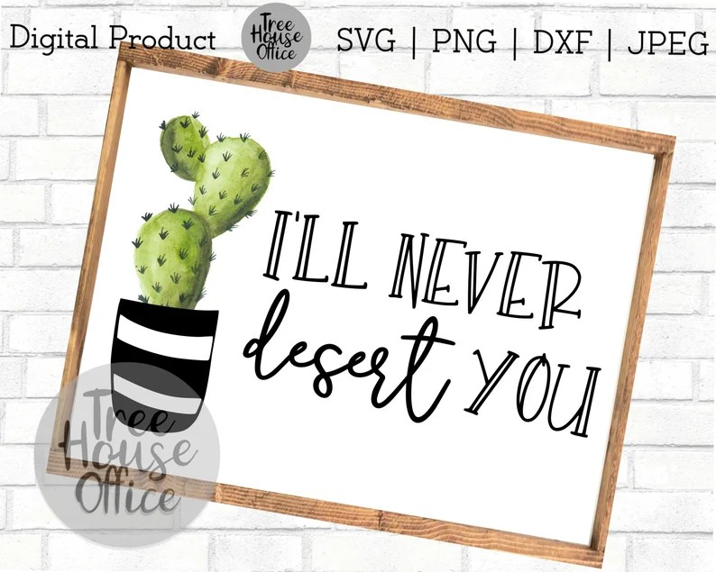 Download Funny Cactus SVG PNG/JPEG/dxf I Love You Cactus Funny | Etsy