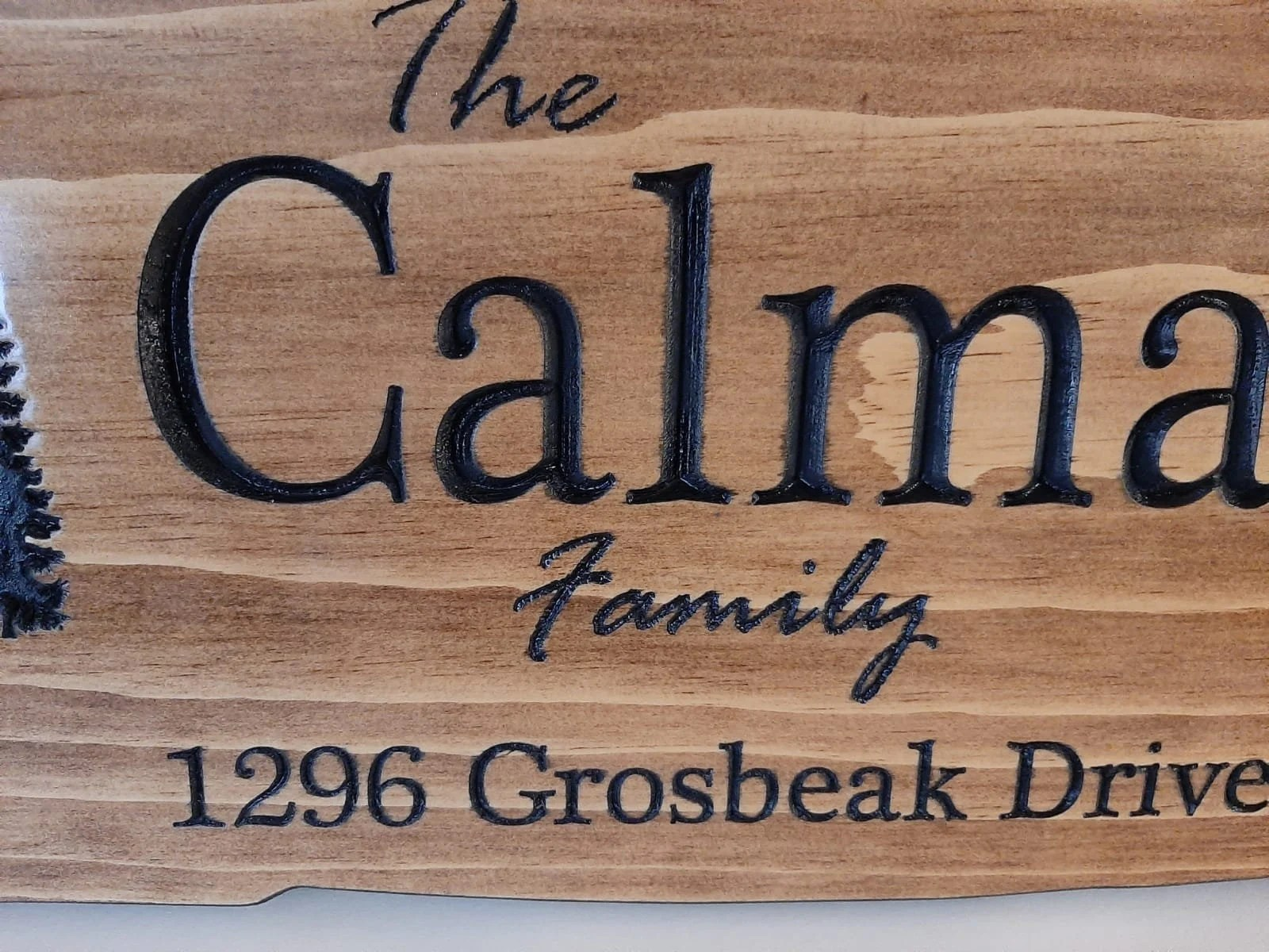 Personalized outdoor carved signs  camp signs cottage sign image 3