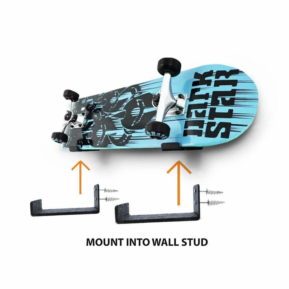 skateboard rack etsy