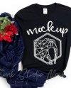 Family Two T Shirts Mockup Gildan 64000 Group Double Tshirt Etsy