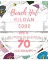 Men S Gildan 5000 T Shirt Mockup Mega Bundle All Colors Etsy